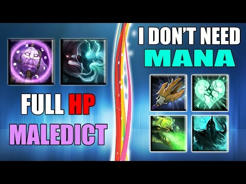 Passives Only + Strongest Maledict in Dota 2 | Ability Draft