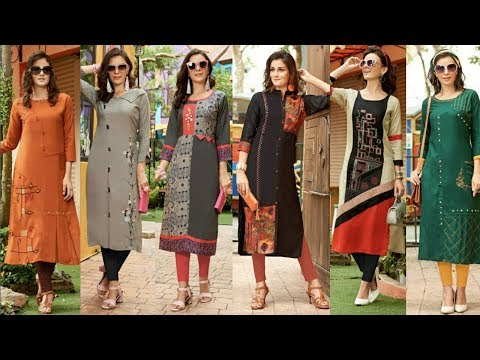 Designer Long Kurti Design|Latest Cotton Rayon Kurti Design|Latest Designer Kurti 2018|Trendy India2