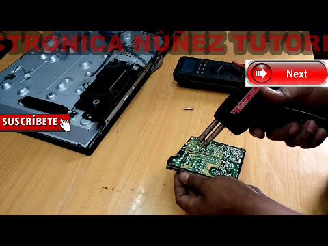 reparar tv LG LED. que no enciende. equipo muerto ( video 1)