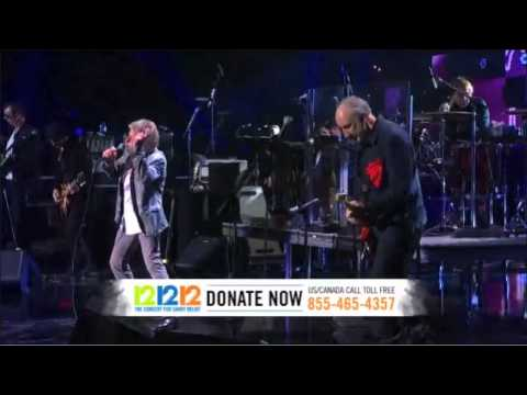 The Who Pinball Wizard 12.12.12. Sandy relief concert HD
