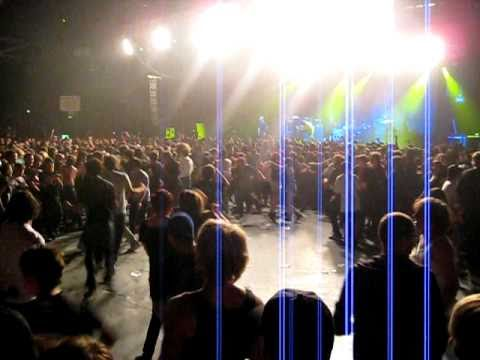 mosh wall of death!! - Bring Me The Horizon - Sydney Sept 10 2010 Video