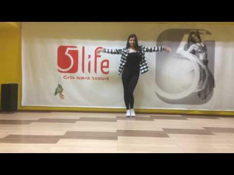 Урок танцам. Dance Improvization Anika