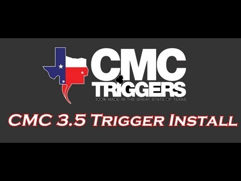 HOW TO INSTALL AN AR-15 TRIGGER : CMC 3.5 TRIGGER GROUP