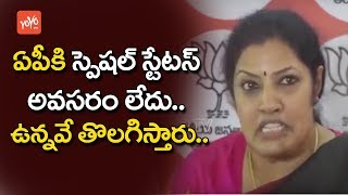 BJP Leader Purandeswari On AP Special Status - AP News - Political News Latest