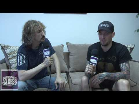 Michael Poulsen of Volbeat Interview 2013 (HD) with BackstageAxxess.com