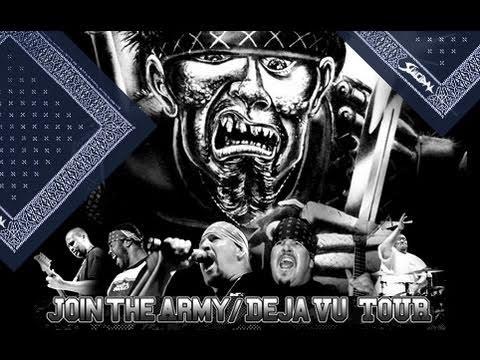 SUICIDAL TENDENCIES 2010 Join The Army / Deja Vu TOUR USA