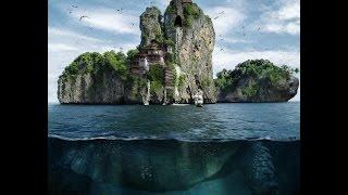 Tutorial Photoshop Underwater Turtle Island 2