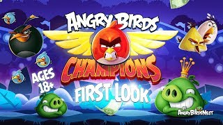 Angry Birds Champions from WorldWinner First Look