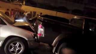 Traffic Accident in Phnom Penh on Street 598 | Khmer breaking news today | Cambodia Hot News 2014