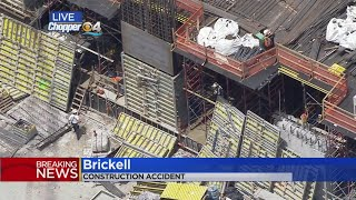 5 Workers Injured At Brickell Construction Site