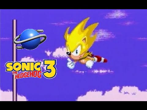 Sonic The Hedgehog 3 Playthrough (sega Saturn) video