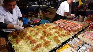その場でファンが出来るお好み焼き屋さん 2018年 職人芸 Street Food Japan Okonomiyaki