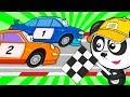 Мультики про Машинки Для Детей– Супер Сборник Про Гоночные Машины – Развивающие Песенки Для Малышей