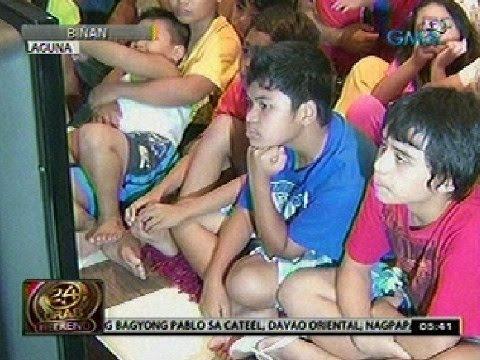 0 - News: 24 Oras: Mga anak ni Pacquiao, nagulat at nalungkot sa pagkatalo ng ama - Philippine Daily News