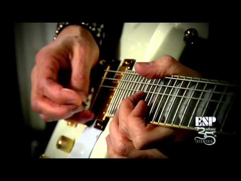 ESP Guitars: Bruce Kulick Guitar Lesson -- Picking Technique