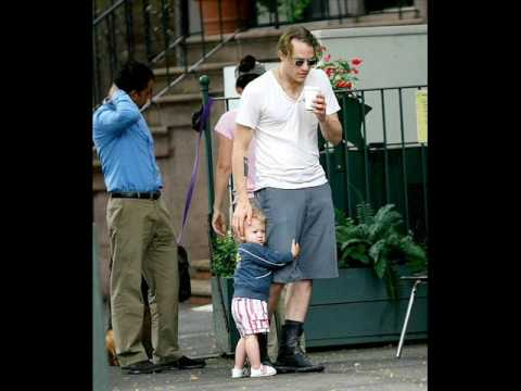 Heath Ledger and Matilda Rose