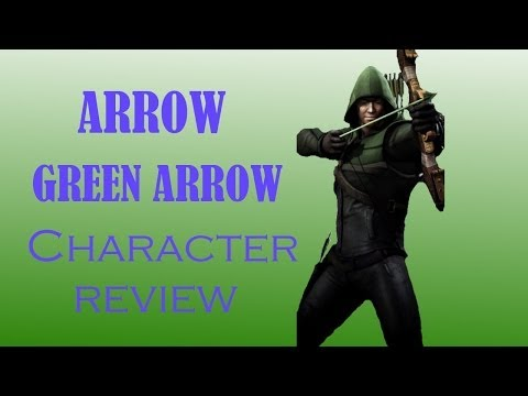 'Arrow' Green Arrow Character Review! Injustice iOS 2.0 New Card