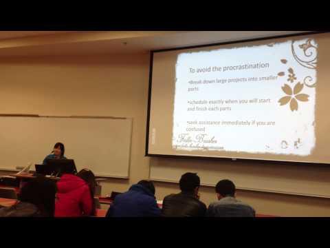 Informative Speech--3 Ways to Reduce Stress
