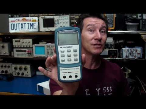 EEVblog #137 - BK Precision 879B Handheld LCR Meter Review