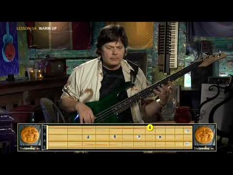 Bass Guitar Lessons - Advanced- Lesson 14 Clip 1 video