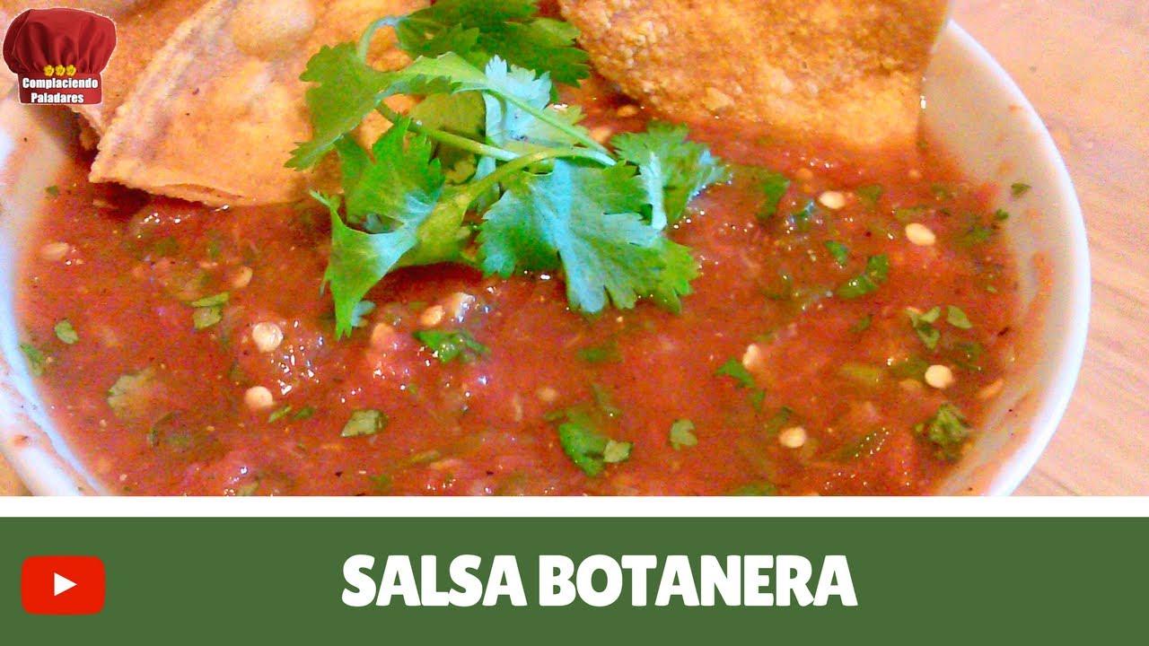 Recetas de Salsas Mexicanas Salsa Botanera Receta Mexicana