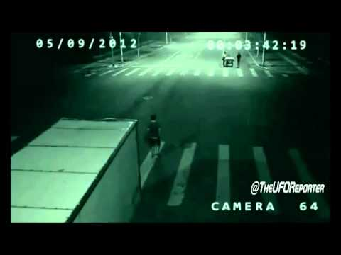 UFO SIGHTINGS DAILY  Alien Saves Mans Life In China Car Accident
