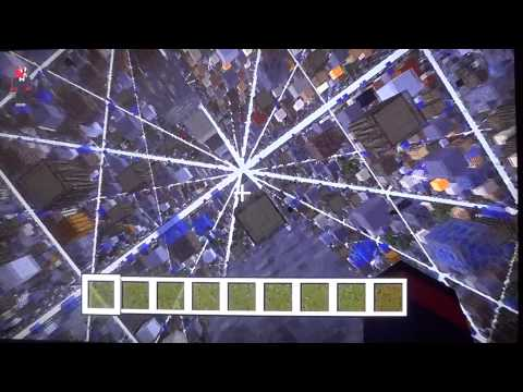 Minecraft Xbox 360 modded map Skygrid w/Download