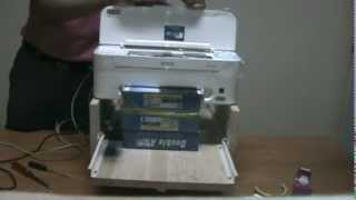 DIY Flatbed Epson ME32 Printer From Thailand
