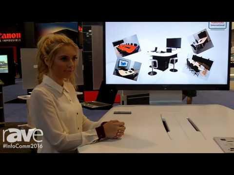 InfoComm 2016: Audio Visual Furniture International Inc Introduces New Electric Lift Table