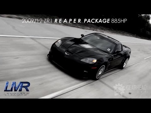 WORLDS Quickest ZR1 9.68 @ 1/4 mile -  885HP (Darth Vader)
