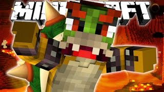 BOWSER BOSS BATTLE!   Minecraft Super Mario   Only One Command