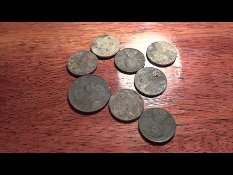 Metal Detecting 6.11.12 (same Place, Different Finds) video
