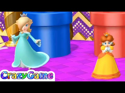 Mario Party 10 Coin Challenge #9 Rosalina vs Daisy, Donkey Kong, Waluigi