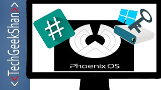 Phoenix OS 1.0.9 RC Install-Root-Access Windows Partition