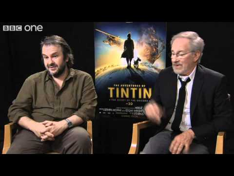 Directors Spielberg and Jackson Discuss Pyjamas - Film 2011 With Claudia Winkleman - BBC One