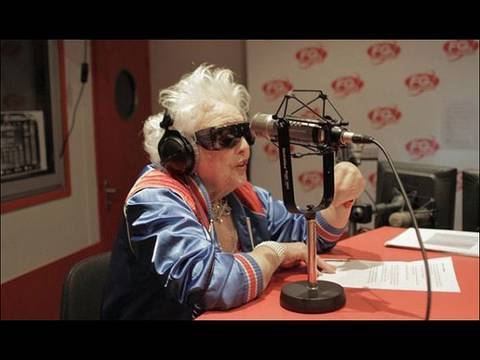 Granny DJ Tears Up UK Clubs