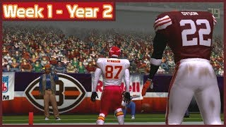 ESPN NFL 2K5 - Cleveland Browns Vs Kansas City Chiefs - Week 1