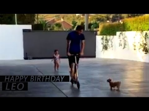 Lionel Messi & His son Thiago, Mateo | Happy birthday LEO