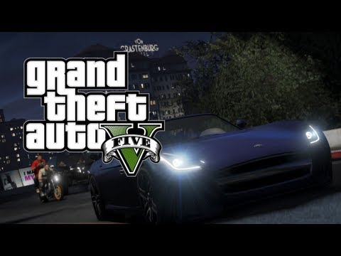 GTA V - All Vehicles Trailer 3 [Michael, Franklin, Trevor]