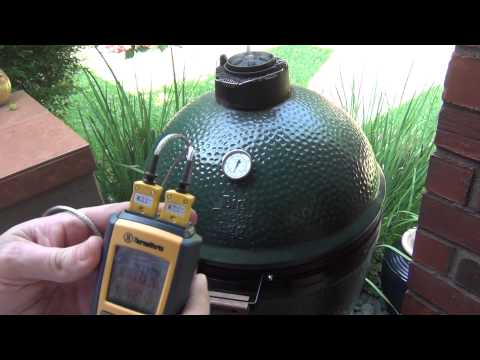 Smoking Ribs on the Big Green Egg (www.FlamingRoosterBBQ.com)