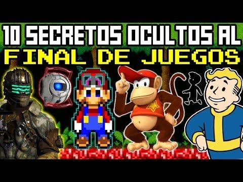 Top 10 Secretos Ocultos al Final de Videojuegos (que NO Notaste)