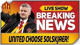 Man Utd Make Solskjaer Decision! Man Utd News Now