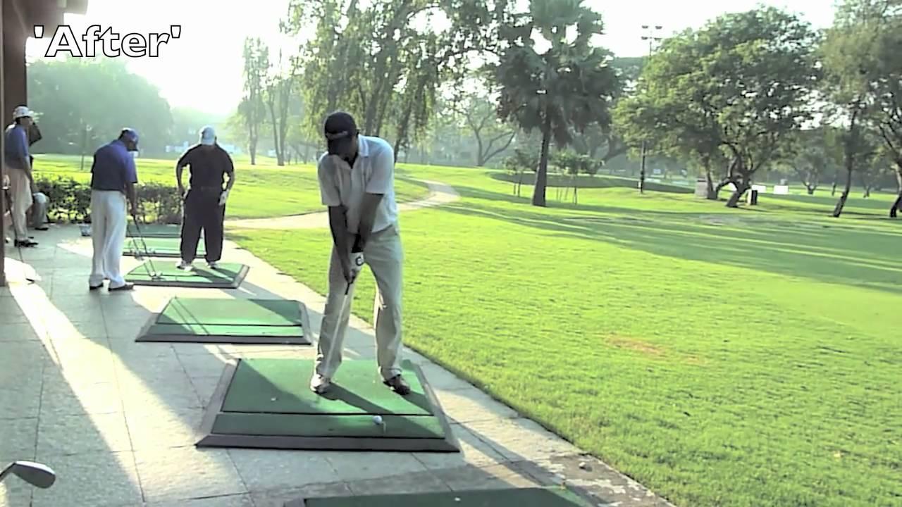 Minimalist Golf Swing - improves ball flight for a veteran ...