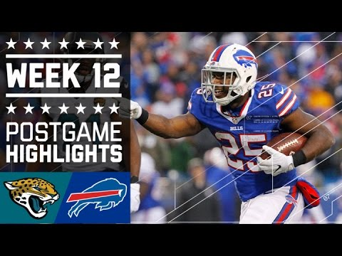 Jaguars Vs Bills Nfl Week 12 Game Highlights