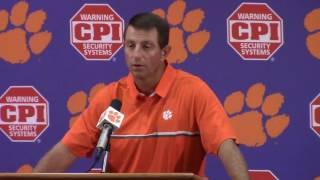 "TigerNet.com - Dabo - ""We have a lot of crap to clean up"""