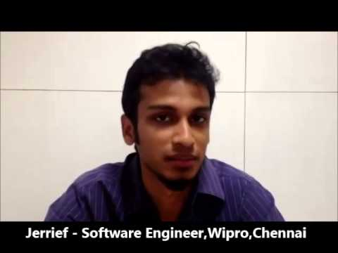 infiniX - Testimonial by a WIPRO Employee for Digital Marketing Training In Chennai