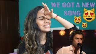 Ever Since New York - Harry Styles (Live at SNL) - (Reaction)
