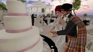 Ewan & Luna Second Life Wedding - 3.3.19