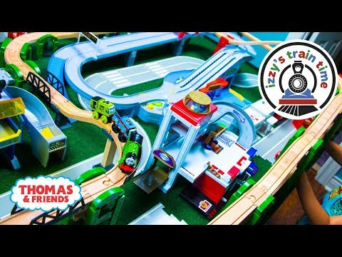 Thomas and Friends | THOMAS ELEVATED TRACK CHALLENGE with Tomica Hot Wheels | Toy Trains for Kids