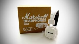 Marshall Major Headphones Unboxing (White)
